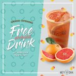 FREE HeyCha Drinks Giveaway! – 请你喝HeyCha饮料!