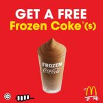 FREE McDonald's Frozen Coke Giveaway! – 请你喝免费麦当劳冷冻可乐!