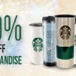 Starbucks Offer 50%off Merchandise Promo! – 星巴克周边产品半价优惠!