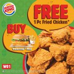Free Burger King A Fried Chicken Giveaway! – 请你吃免费炸鸡!