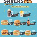 A&W Malaysia Awesome Savers Deal! – A&W优惠促销,让你省更多!