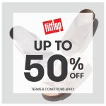 FitFlop Offer Up to 50%off Discount Promo! – FitFlop优惠高达半价的折扣!
