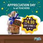 Famous Amos Teachers Day Special Promo! – Famous Amos曲奇饼教师节优惠促销!