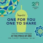 Starbucks Buy One FREE One Promo! – 星巴克买一送一优惠!
