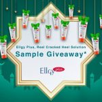 FREE Ellgy Plus Cracked Heel Cream Sample Giveaway!- 免费护脚霜使用样品,寄到家!
