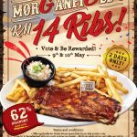 Morganfield's RM14 Ribs Deal! – Morganfield's排骨优惠价,底至RM14而已!