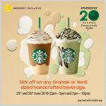Starbucks Special Deal on Any Grande or Venti sized Handcrafted Beverage! – 星巴克特优惠促销!
