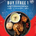 Kenny Rogers ROASTERS Buy 1 Free 1 Deal! -KRR烤鸡买一送一优惠促销!
