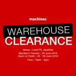Machines Warehouse Clearance Is Back! – 苹果产品清仓促销大平卖!