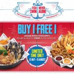 The Manhattan FISH MARKET Buy 1 FREE 1 Deal! 买一送一优惠促销!