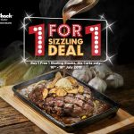 NY Steak Shack Buy 1 FREE 1 Deal! – NY Steak Shack铁板烧西餐优惠买一送一促销!