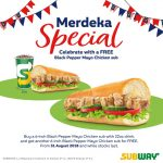 FREE Subway Black Pepper Mayo Chicken sub Deal!~请你吃Subway三文治!