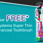 FREE SYSTEMA Super Thin Charcoal Toothbrush Giveaway! ~ 免费SYSTEMA牙刷!