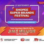 Shopee Super Brands Festival Deals, Extra Discounts Code Giveaway! 赠送额外折扣代码!