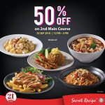 Secret Recipe Malaysia Offer Special Half Price Deal! – 享有半价折扣优惠!
