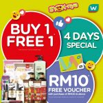 Watsons Malaysia SYOK Weekend Specials Is Back! 买一送一周末特优惠回来了!
