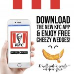 FREE KFC Cheezy Wedges Giveaway! 请你吃免费KFC Cheezy Wedges!