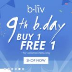 b.liv Buy 1 FREE 1 Deals! – 买一送一优惠!