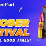 Shopee October Festival Deals! 赠送额外折扣代码!