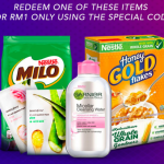 Redeem One of These Items @ RM1 Deals! 一令吉优惠促销!