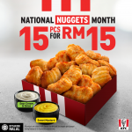 KFC Special Offer of KFC Nuggets! KFC鸡肉块1个,只要RM1哦!