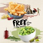 FREE Wasabi Green Peas + FREE Flute Chips (Cajun Cheese) Giveaway! 免费芥末绿豌豆+整个玉米长笛芯片(乳酪)!