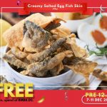 FREE Salted Egg Fish Skin (80g) Giveaway! 请你吃咸蛋鱼皮,价值RM35哦!