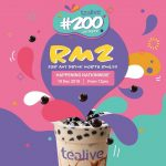 Tealive Offer Special Deal @ ONLY RM2! Tealive奶茶优惠,仅RM2而已!
