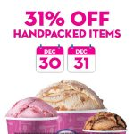 Baskin-Robbins 31% off promotion! Baskin-Robbins冰淇淋优惠31%的折扣!