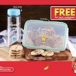 FREE BAP FREE Water Bottle, FREE BPA FREE Lunch Box and Chocolate Butter Cookie Giveaway! 免费水瓶,餐盒,巧克力饼干!