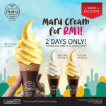 Maru Cream Soft Serve Only at RM1 Deal! 一零吉Maru冰淇淋!