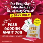 FREE The Body Shop Goodies Giveaway! 免费The Body Shop 赠品!