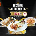 The Manhattan Fish Market February's Best Deal Of The Month! 优惠促销!