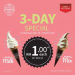 Maru Milk or Mix Ice Cream at Only RM1 Deal! Maru冰淇淋只要一零吉而已!