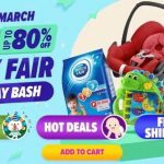 FREE Lazada Big Baby Fair Extra Code Discount Giveaway! 免费宝宝尿片奶粉折扣券代码!