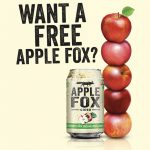 FREE A Can of Apple Fox Giveaway! 免费一罐Apple Fox 苹果酒!