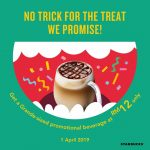 Starbucks April Fool Promotion! 星巴克愚人节优惠促销!