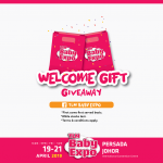 FREE 500 Welcoming Gift worth RM20 Daily Giveaway! 免费价值RM20迎新礼品!