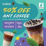 Tealive Offer Half Price Deal!Tealive奶茶半价优惠!