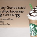 Starbucks Special RM12 Deal Is Back! 星巴克特优惠回来啦!