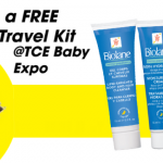 Free Biolane Travel Kit Set Giveaway! 免费宝宝护肤产品!