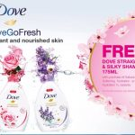FREE Dove Straight & Silky Shampoo Giveaway!优惠赠送Dove 洗发水!
