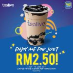 Tealive RM 2.50 Special Deal Is Back! Tealive奶茶,只要RM2.50而已!