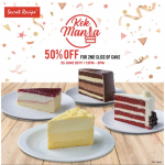 Secret Recipe Slice Cake Half Price! Secret Recipe蛋糕优惠半价促销!