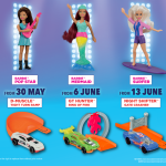 FREE McDonald's Barbie Or Hot Wheels Toys Giveaway! 免费芭比或风火轮小跑车玩具!