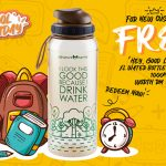 FREE XL Water Bottle (1L), worth RM39.50 Giveaway! 免费获取 XL水罐 (1L)赠品!