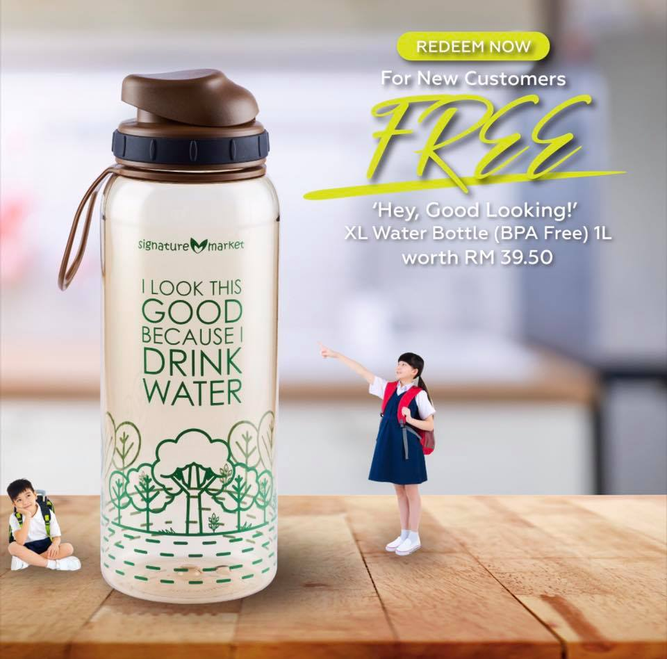 FREE XL Water Bottle (1L)