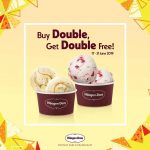 Haagen Dazs Double Delight Promotion! Haagen Dazs 冰淇淋买一送一优惠促销!