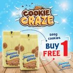 Famous Amos Cookie Craze Promo Is Back! Famous Amos曲奇饼买一送一优惠促销!