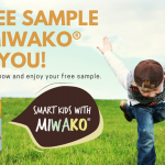 FREE MIWAKO Milk Sample Giveaway! 免费MIWAKO 奶粉样品!